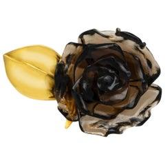 Flower Onyx Ring