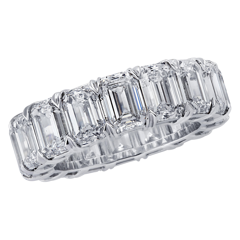 Vivid Diamonds  GIA Certified Diamond Eternity Band