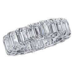 Vivid Diamonds  GIA Certified Diamond Eternity Band