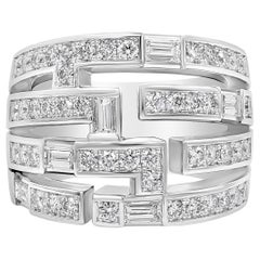 Harry Winston Diamond Traffic Ring