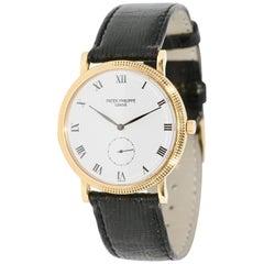 Patek Philippe 3919 Calatrava 18 Karat Gold Wristwatch