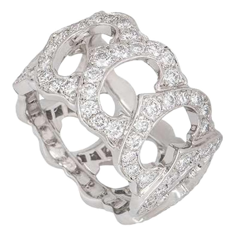 Cartier C de Cartier Diamond Band Ring 2.25 Carat