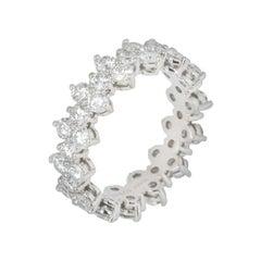 Tiffany & Co. Aria Full Diamond Eternity Ring 2.10 Carat