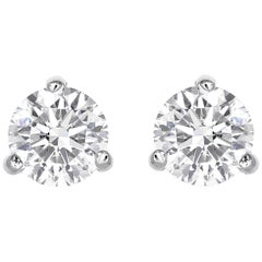 5.14 Carat Diamond Stud Earrings