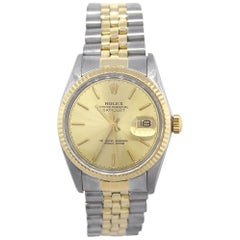 Rolex 16013 Datejust Champagne Dial Watch