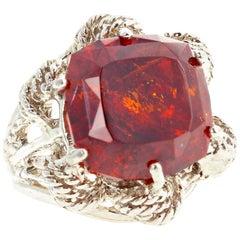 16.4 Carat Sphalerite Ring
