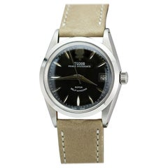 Tudor Stainless Steel Prince Oyster Date Ref 7964 Wristwatch, circa 1972