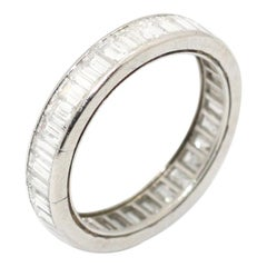 Diamond Eternity Band Ring, French