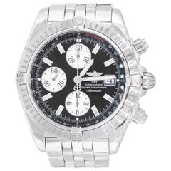 Breitling A13356 Chronomat Evolution Black Dial Watch