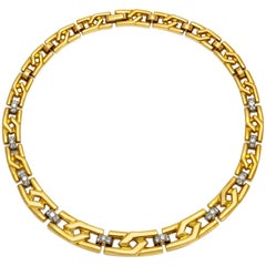 David Webb 18 Karat Collar Necklace
