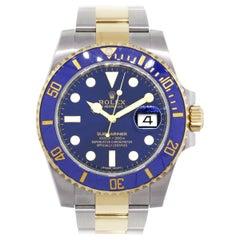 Rolex 116613LB Submariner Wrist Watch