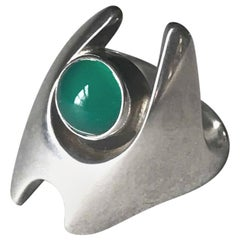 Georg Jensen Sterling Silver Ring by Henning Koppel No 139(Size 8)