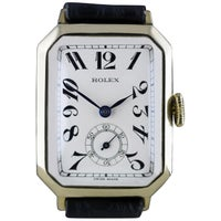 Rolex Art Deco Gold Wristwatch, 1933