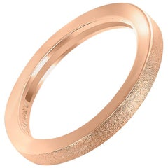 Alex Soldier Rose Gold Textured Band One of a Kind