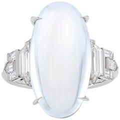 Raymond Yard Moonstone Ring, 10.14 Carat