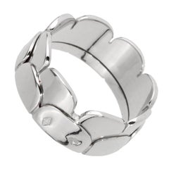 Hermes Arch White Gold Band Ring