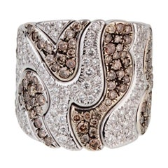 Marina B  Diamond Kar Collection Cocktail Ring