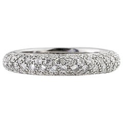 Mark Broumand 1.95 Carat Round Brilliant Cut Diamond Eternity Band