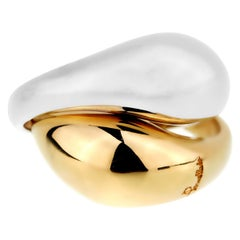 Pomellato Two-Tone Gold Cocktail Ring