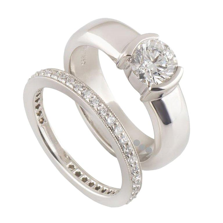 Tiffany Co Wedding Rings 153 For Sale At 1stdibs