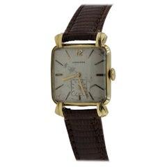 14 Karat Yellow Gold Longines Vintage Watch