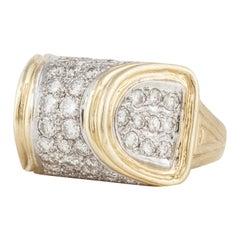 18 Karat Diamond Cocktail Ring