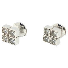 Cartier Cluster Studs Diamonds Earrings