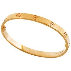 Cartier 18 Karat Pink Gold Love Bracelet
