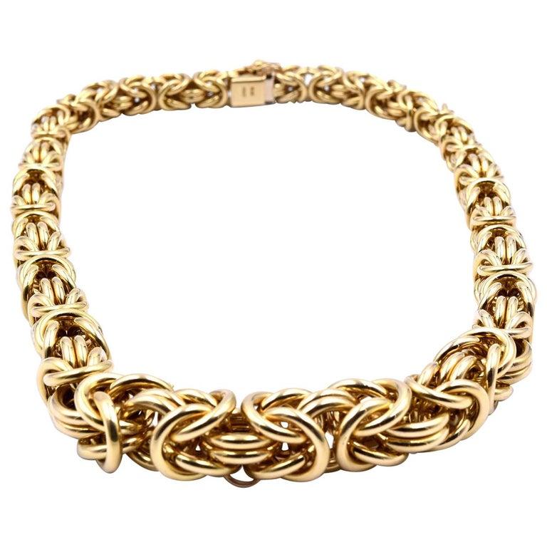 18 Karat Yellow Gold Turkish Style