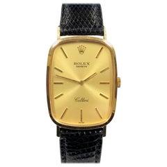 Rolex Cellini Ref 4113 Mechanical Yellow Gold Wristwatch
