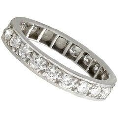 Contemporary Diamond Gold Full Eternity Ring