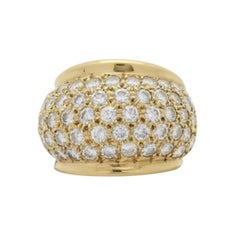 Gold and Diamond Ring, 18 Karat