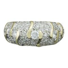 Diamond Wedding Band in Yellow Gold 1.20 Carat