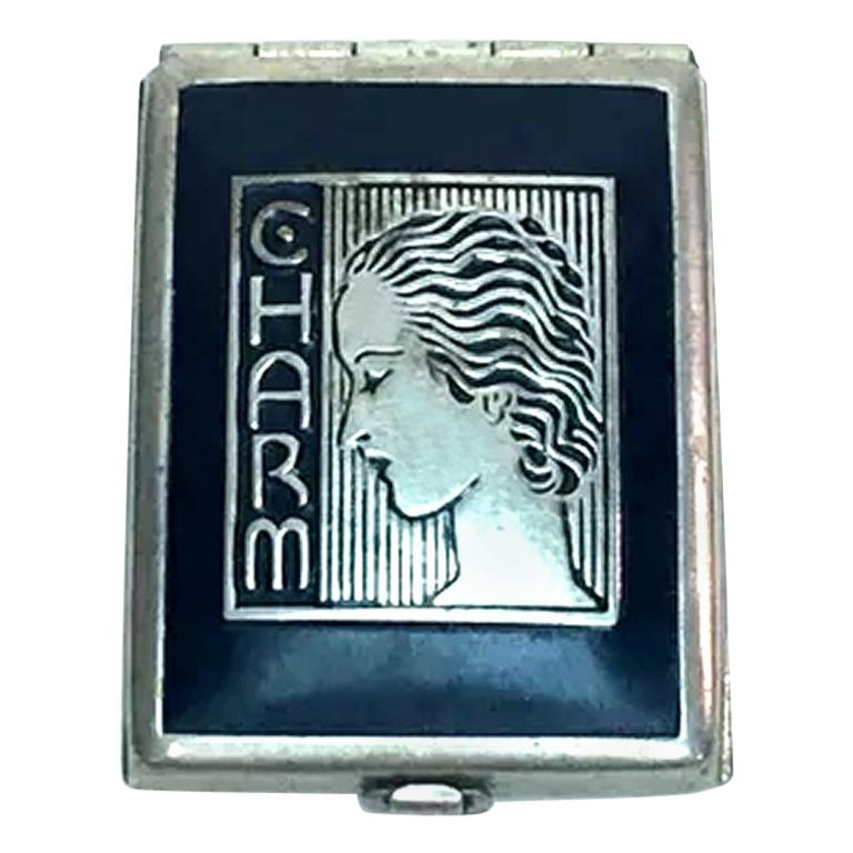 Art Deco 1930s Ladies Rouge Compact 'Charm' For Sale