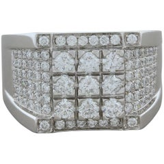 Men's Diamond Gold Ring