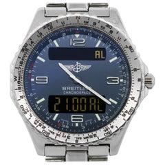 Breitling Chronospace A56012.1 Digital Display Men's Watch