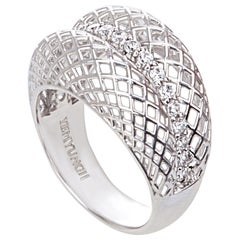 Yemyungji Diamond 18 Karat White Gold Fashion Ring