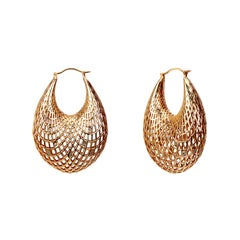 Yemyungji Diamond 18K Yellow Gold Blooming Earrings