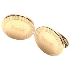 Piaget Yellow Gold Cufflinks