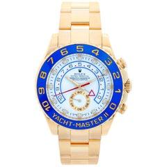 Men's Rolex Yacht-Master II Regatta 18 Karat Yellow Gold Watch 116688