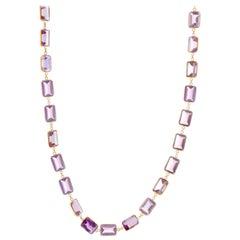 Light Purple Amethyst Necklace