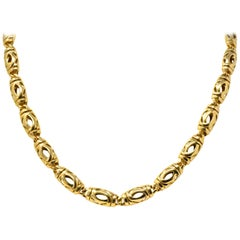 Cartier 18 Karat Gold Unisex Chain Necklace
