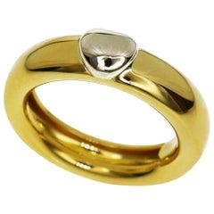 Tiffany & Co. 18 Karat Yellow Gold White Gold I Love You Ring
