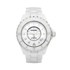 Chanel J12 Diamond Ceramic H1629 Wristwatch