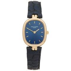 Patek Philippe Golden Ellipse Yellow Gold 4764 Wristwatch