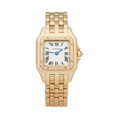 Cartier Panthere De Cartier Yellow Gold 1280 Wristwatch