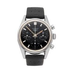 Heuer Carrera Stainless Steel 2447 Wristwatch
