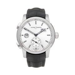 Ulysse Nardin Dual Time Stainless Steel 3343-126 Wristwatch