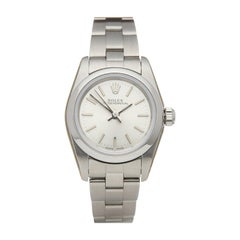 Rolex Oyster Perpetual 24 Stainless Steel 76080 Wristwatch