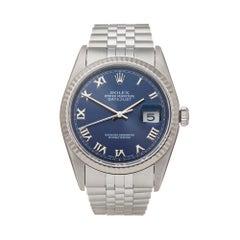 Rolex Datejust 36 Stainless Steel 16234 Wristwatch